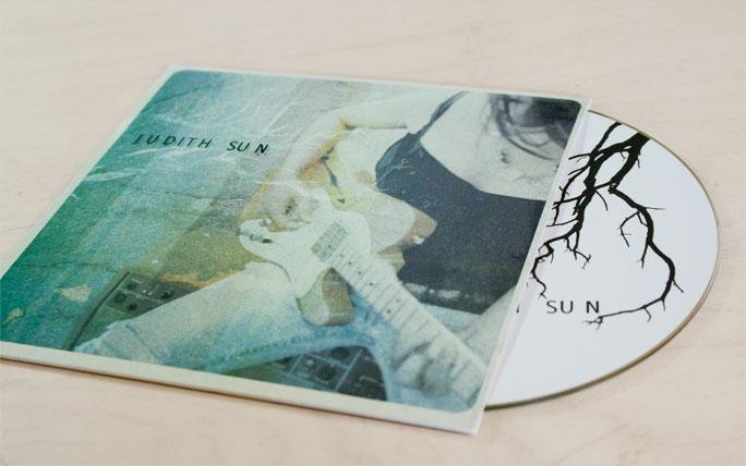 Judith Sun - Cover+CD