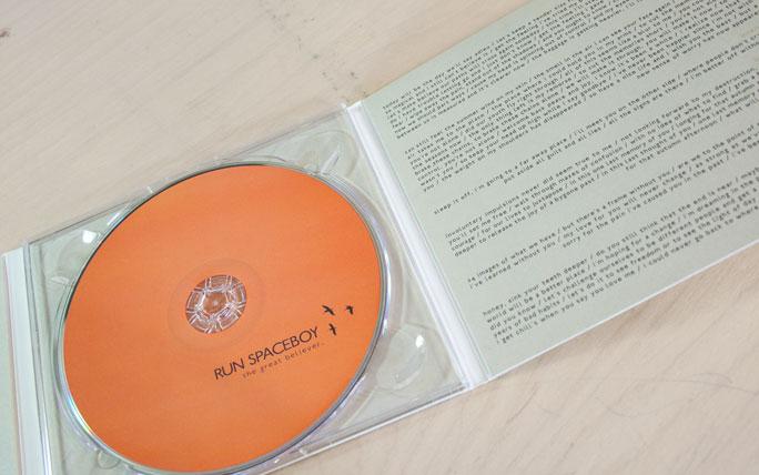 Run Spaceboy - CD artwork